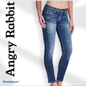 ANGRY RABBIT skinny jeans. Size 28/7